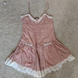 Zara mauve pocket dress